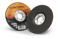 3M Cubitron II Ceramic Aluminum Oxide Cut & Grind Wheel - 36 Grit Very Coarse - 4 in Diameter - 3/8 in Center Hole - Thickness 0.375 in - 82276