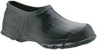 North Servus 41463 Black 10 Waterproof & Rain Overboots/Overshoes - 5 in Height - Rubber Upper and Rubber Sole - 41463 SZ 10