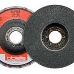 Dynabrade Nylon Deburring Disc - Medium Grade - Medium Grade - Arbor Attachment - 4 1/2 in Diameter - 7/8 in Center Hole - 78297