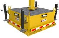 DBI-SALA FlexiGuard Yellow Steel Jack Leveling Kit - 8 in Width - 12 1/2 in Length - 9 1/2 in Height - 840779-10686