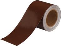 Brady B-946 Brown Pipe Banding Tape - 4 in Width - 30 yd Length - 36315