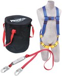 Protecta Compliance in a Can Roofer's Fall Protection Kit - Polyester Webbing - 6 ft Length - 648250-16034