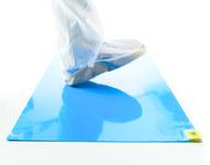 Texwipe CleanStep Blue Mat Floor Mats & Mat Frames - 18 in Width x 36 in Length - AMA183681B
