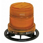 Monster Class III Amber Safety LED Beacon - 4.4 in Height - 5.2 in Overall Diameter - MONSTER SL.300.MA