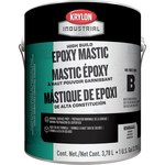 Krylon Industrial Coatings K0686 Clear Epoxy - Liquid 1 gal Pail - One-Part Base (Part B) 1:1 Mix Ratio - 02435