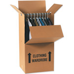 "Wardrobe Packing Boxes, 20"" x 20"" x 45"" - 5 EACH PER BUNDLE"