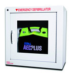 Zoll AED Plus 8000 Wall Cabinet - 17.4 in Width - 17.4 in Length - 17.4 in Height - 8000-0855