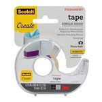 3M Scotch 001-CFT Clear Photo Tape - 3/4 in Width x 400 in Length - 59336