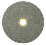 Weiler Convolute Silicon Carbide Hard Deburring Wheel - Fine Grade - Arbor Attachment - 6 in Diameter - 1 in Center Hole - 1 in Thickness - 54455