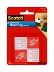 3M Scotch 108 Foam Mounting Tape - 1 in Width x 1 in Length - 56875