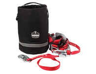 Ergodyne Arsenal GB5130 Black Polyester/PVC Fall Protection Equipment Bag - 10 in Width - 10 in Length - 14 in Height - 720476-13130