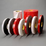 3M 5925 White Foam Bonding VHB Tape - 1 in Width x 72 yd Length - 25 mil Thick - 63866