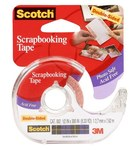 3M Scotch 002-4 Clear Acid-Free Photo Tape - 1/2 in Width x 300 in Length - 50813