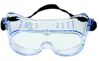 3M 40650-00000-10 Polycarbonate Safety Goggles Clear Lens - Direct Vent - 078371-62137