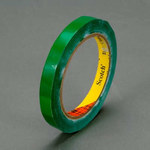 3M Scotch 690 Green Color Coding Bag/Packaging Tape - 12 mm Width x 66 m Length - 2.3 mil Thick - 61640