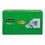3M Scotch 810K20 Magic Clear Office Tape - 3/4 in Width x 1000 in Length - 80701