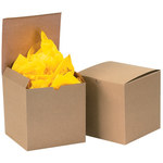 """Gift Boxes, 3"""" x 3"""" x 2"""" Kraft - 100 PER CASE"""
