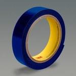 3M SJ3401 Blue Hook & Loop Tape - Loop - 1 in Width x 50 yd Length - 75924
