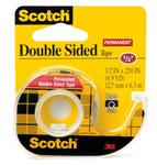 3M Scotch 136 Office Tape - 1/2 in Width x 250 in Length - 01032