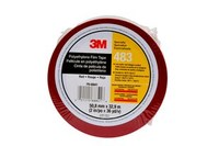 3M 483 Red Aerospace Tape - 2 in Width x 36 yd Length - 5.3 mil Thick - 68841