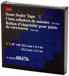 3M 08476 Black Flashing Tape - 7/8 in Width x 30 ft Length - 20 mil Thick