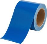 Brady B-946 Blue Pipe Banding Tape - 4 in Width - 30 yd Length - 36289