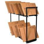 "54"" x 18"" x 50"" Two Tier Carton Stand - 1 PER EACH"