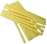 Steinel GF 23 Hot Melt Adhesive Yellow Stick - 1/2 in Dia - 12 in - 04034