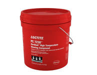 Loctite PC 7230 Red Ceramic Epoxy - Putty 25 lb Kit - Base & Accelerator (B/A) 2.5:1 Mix Ratio - Formerly Known as Loctite Nordbak High Temperature Wearing Compunt - 99112