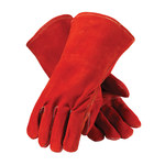 PIP Red Viper 73-7015 Brown Large Split Cowhide Kevlar/Leather Welding Glove - Wing Thumb - 13.5 in Length - 616314-10514