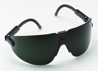 3M Lexa 15212-00000-20 Medium Polycarbonate Standard Welding Glasses Shade 5.0 Lens - Black Frame - Wrap Around Frame - 078371-62293