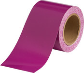 Brady B-946 Purple Pipe Banding Tape - 4 in Width - 30 yd Length - 36318