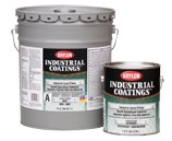 Krylon Industrial Coatings K0002 Gray Epoxy - Liquid 1 gal Pail - Accelerator (Part A) 4:1 Mix Ratio - 02465