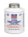 Permatex Form-A-Gasket 3D Gasket Adhesive/Sealant - Brown Liquid 16 fl oz Bottle - 80017 - #3
