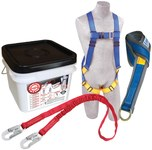 Protecta Compliance in a Can Roofer's Fall Protection Kit - Polyester Webbing - 6 ft Length - 648250-16677