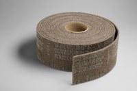 3M Scotch-Brite CP-RL A/O Aluminum Oxide AO Deburring Roll - Very Fine Grade - 6 in Width x 30 ft Length - 16034