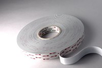 3M 4955 White VHB Tape - 3/4 in Width x 36 yd Length - 80 mil Thick - 67500