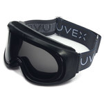 Uvex Climazone Polycarbonate Standard Safety Goggle Gray Lens - Black Frame - Direct Vent - 603390-023248