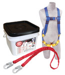 Protecta Compliance in a Can Roofer's Fall Protection Kit - Polyester Webbing - 6 ft Length - 648250-16035