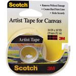 3M Scotch FA2010 Artist Tape - 3/4 in Width x 10 yd Length - 93608