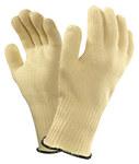 Ansell Mercury 43-113 Yellow 10 Kevlar Heat-Resistant Glove - 7 Gauge Thick - 104152