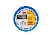 3M 483 Blue Aerospace Tape - 1 in Width x 36 yd Length - 5.3 mil Thick - 68846