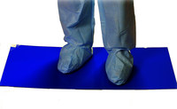 PIP CleanTeam Blue Mat Floor Mats & Mat Frames - 24 in Width x 36 in Length - 25808