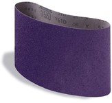 3M Regalite Coated Aluminum Oxide Sanding Belt - Cloth Backing - Y Weight - 50 Grit - Coarse - 7 7/8 in Width x 29 1/2 in Length - 04145