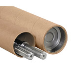 "Adjustable Tubes, 3 1/4"" x 24 - 44"" Kraft - 25 PER CASE"