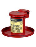 Justrite Red Safety Can - 10.5 in Height - 697841-12311