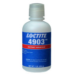Loctite 4903 Cyanoacrylate Adhesive - Clear Liquid 1 lb Bottle - 00521 -