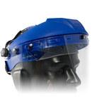 PIP 251-01-52 Blue Polypropylene Face Shield Headgear - Ratchet Adjustment - 616314-08092