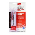 3M Marine 5200FC Fast Cure Adhesive/Sealant - White Paste 3 oz Tube - Shore Hardness 60 Shore A, Shear Strength 316 psi, Tensile Strength 1000 psi -