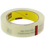 3M Scotch 800 Clear Label Protection Tape - 07360